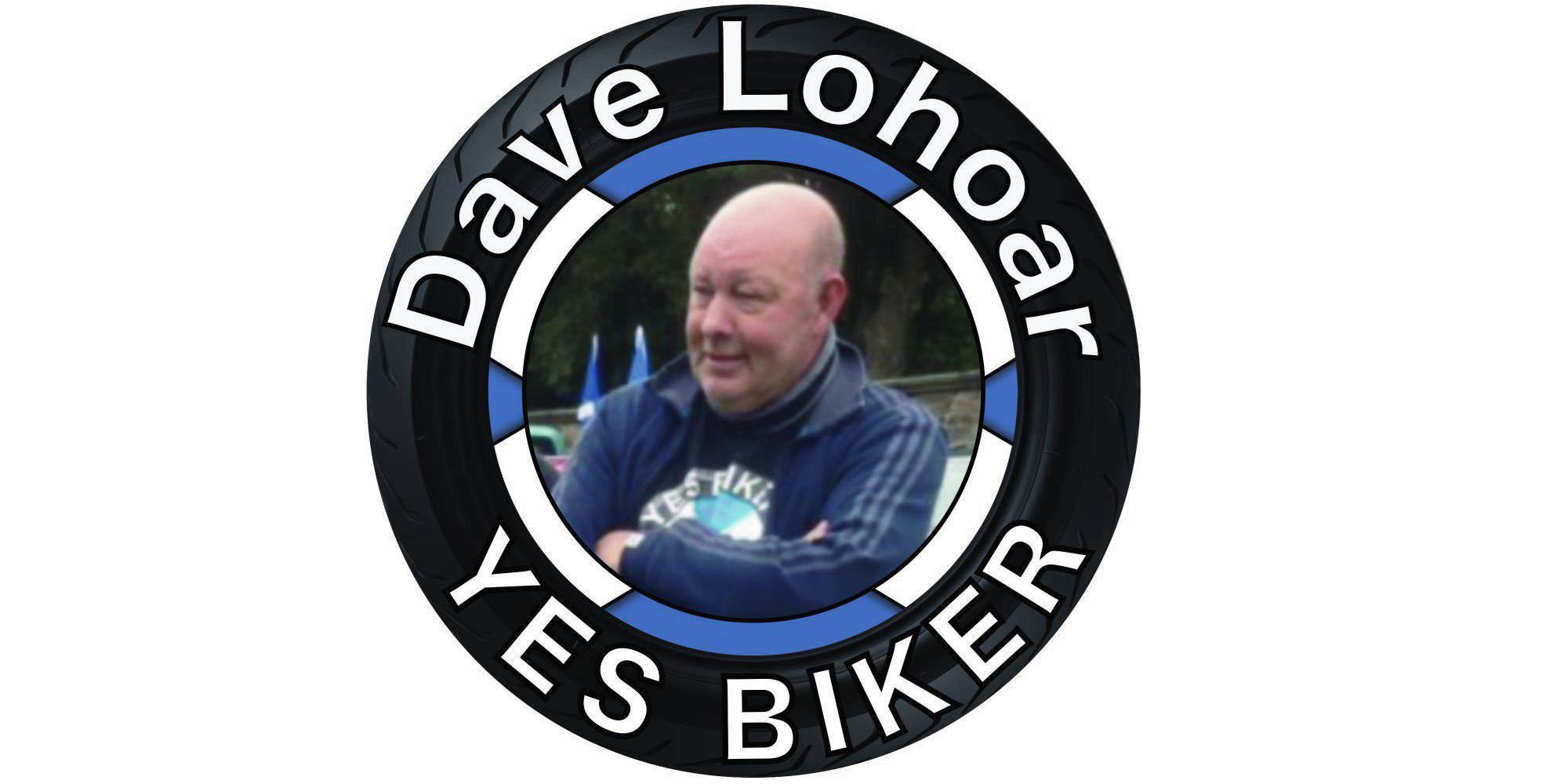 Dave Lohoar yes biker